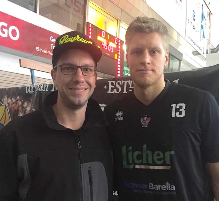 Playoffs mit Gießen? Benni Lischka und Basketballherz.